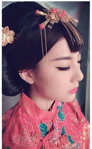 陈紫函秀禾发型教程