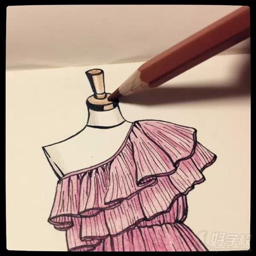 服装设计学习:时尚服装设计图文详解-广州美术学院师