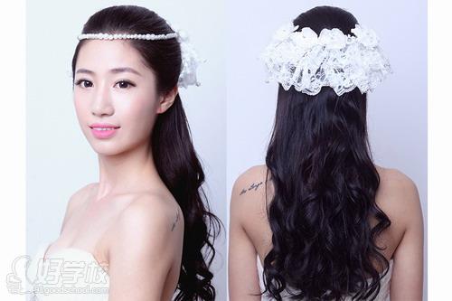 杨柳色彩最新韩式新娘发型_展现优雅清新甜美的你