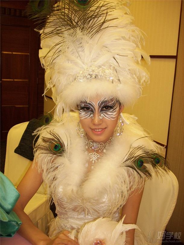 深圳面具国际彩妆学院学员彩妆作品图片