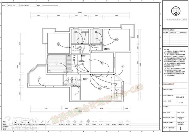 CAD室内设计平面图v工程工程作品展示-前进电一楼图片装修设计大厅图片