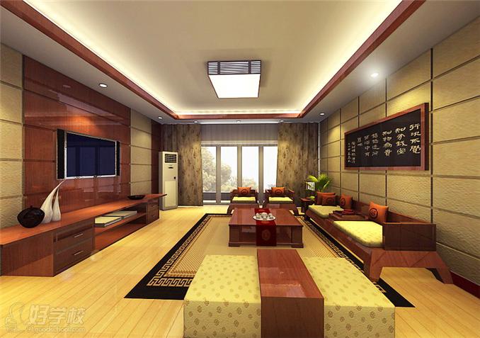 室内设计三维效果图制作