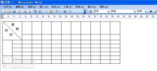 可以直接使用鼠标来缩放表格