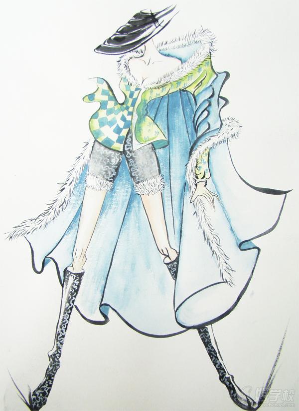 广州服装色彩设计培训班