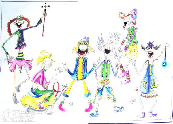 广州时装绘画与设计培训班