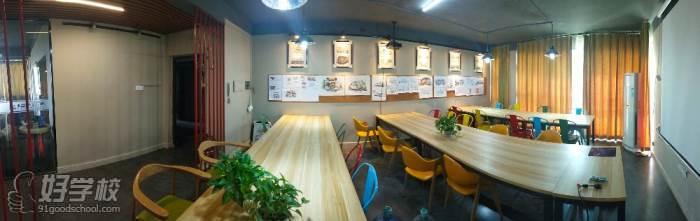 南昌亚当手绘设计工作室 教学环境