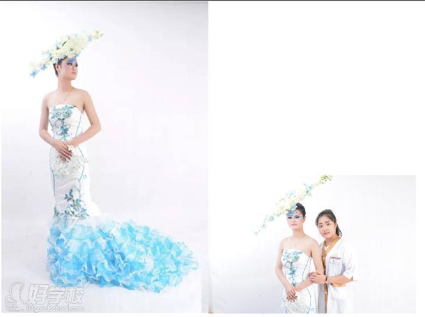 艾琳达创意新娘秋冬作品展欣赏图片