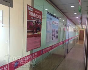绍兴新世界学校走廊环境