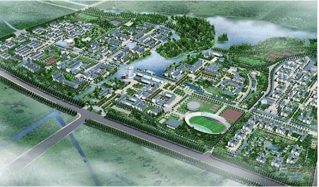 江南大学学校地区图