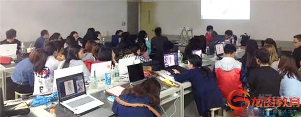 龙图教育携手四川师范大学 展开联合实训图片