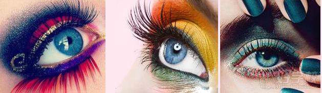 欧式眼影的素描画法