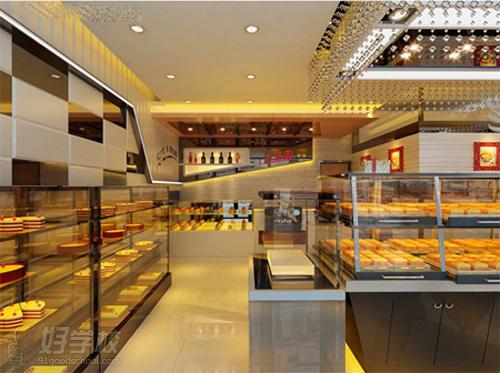 欧式风格蛋糕店装修设计图片