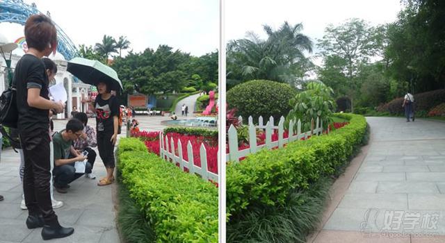 园林景观设计课-云台花园参观学习图片