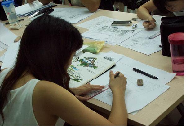 室内手绘效果图专业班-实战提高班
