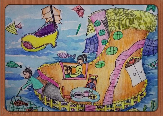 幼儿初级绘画步骤