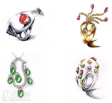 广州珠宝手绘培训课程