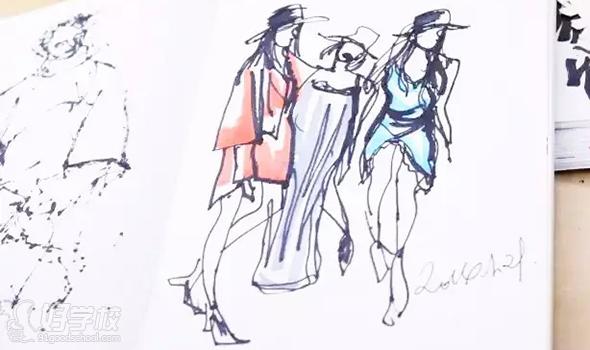 北京圣马丁创意手绘课程培训班
