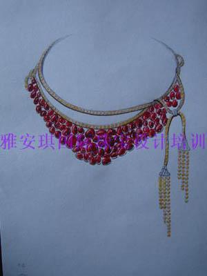 汇雅珠宝培训手绘设计课程 06 3500  珠宝首饰设计的灵感与创意