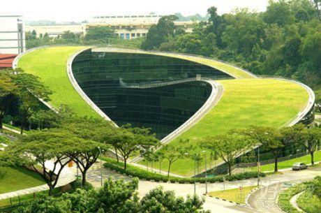 新加坡南洋理工大学(ntu)校园风景