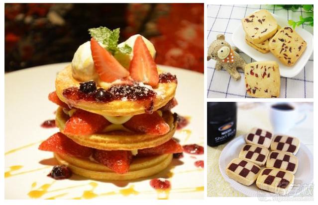 【关于慕斯蛋糕】 慕斯蛋糕是一种以慕斯粉为主材料的糕点。慕斯的英文是mousse,是一种奶冻式的甜点,可以直接吃或做蛋糕夹层,通常是加入cream与凝固剂来造成浓稠冻状的效果。慕斯是从法语音译过来的。慕斯蛋糕最早出现在美食之都法国巴黎,最初大师们在奶油中加入起稳定作用和改善结构,口感和风味的各种辅料,使之外型、色泽、结构、口感变化丰富,更加自然纯正,冷冻后食用其味无穷,成为蛋糕中的及极品。慕斯与布丁一样属于甜点的一种,其性质较布丁更柔软,入口即化。 【培训对象】 面向没有基础的初学者,对西点慕斯的热衷者,