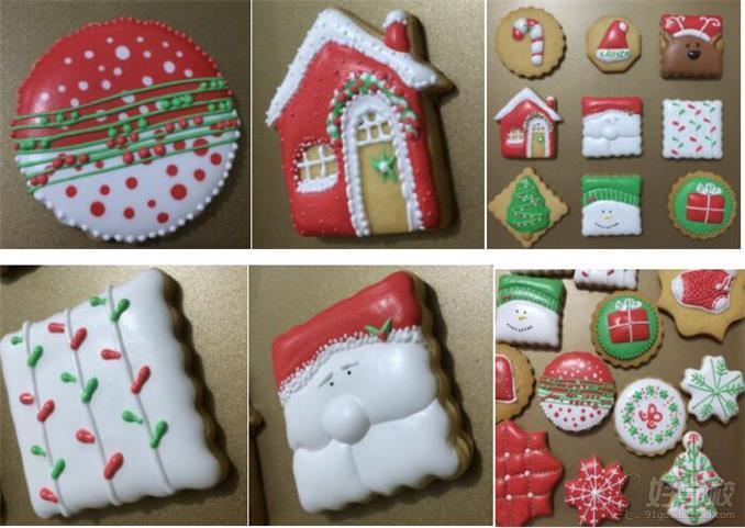糖霜饼干的制作作品