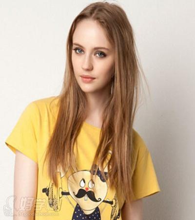 时尚长发女生发型推荐-广州芳龄盛美容培训