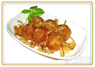 章鱼小丸子美食作品