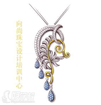 广州珠宝手绘设计培训课程-广州向尚珠宝设计培训中心