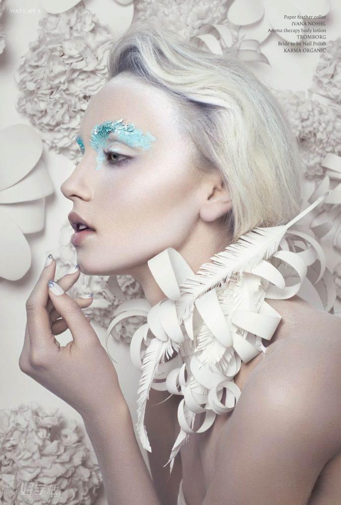 创意时尚杂志化妆造型