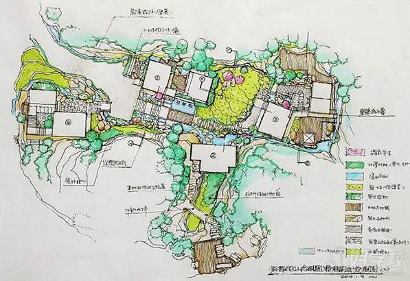 广州手绘地图图片