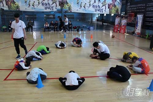 武汉极光篮球俱乐部教学环境
