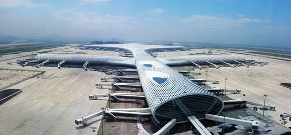 山大mba参观深圳机场-t3航站楼