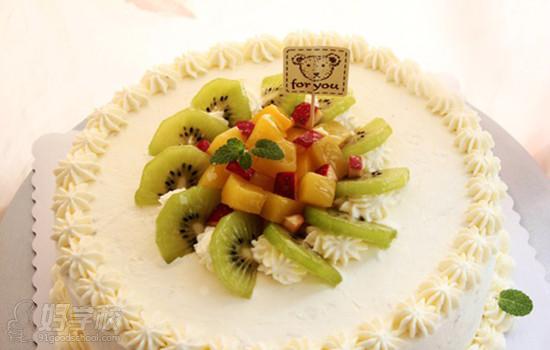 蛋糕奶油花边图案