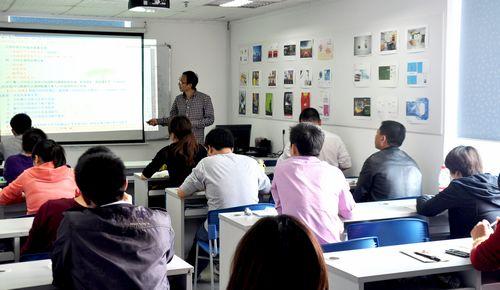 深圳中鹏培训中心学员上课场景