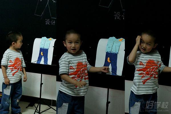 深圳中鹏少儿美术培训-少儿服装设计班