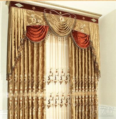 窗帘布带缝制步骤图