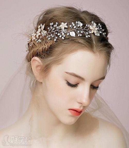欧式发型新娘皇冠