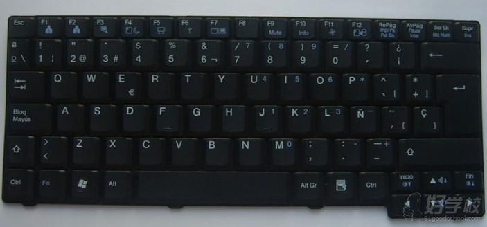 87键盘键位图