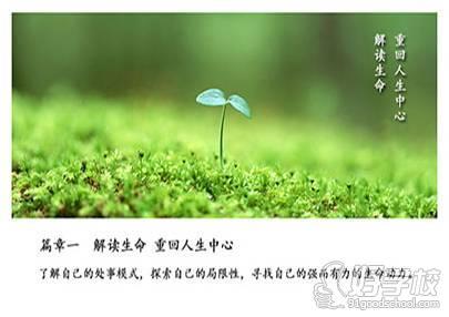 解读生命,重回人生中心