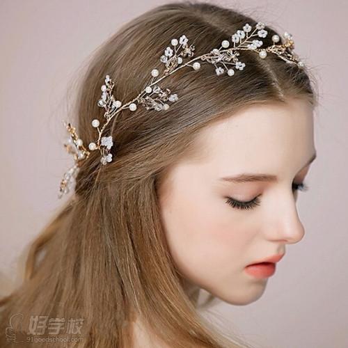 2015唯美复古宫廷新娘发型 新娘就要美美哒