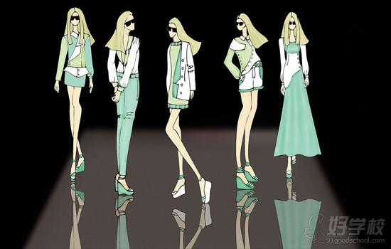 女装设计常见的18种服装风格