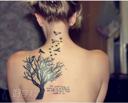 少数的纹身经数年或更长时间后可自行变淡,但大多数则长期稳定.