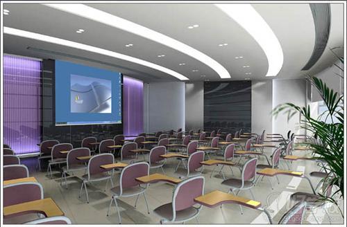 中学生培训室装修效果图-美霖培训学校 未来设计师的最佳选择