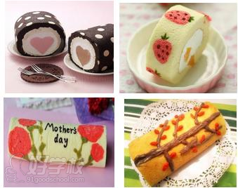 广州彩绘蛋糕卷培训班