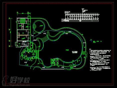 cad建筑施工图作品3