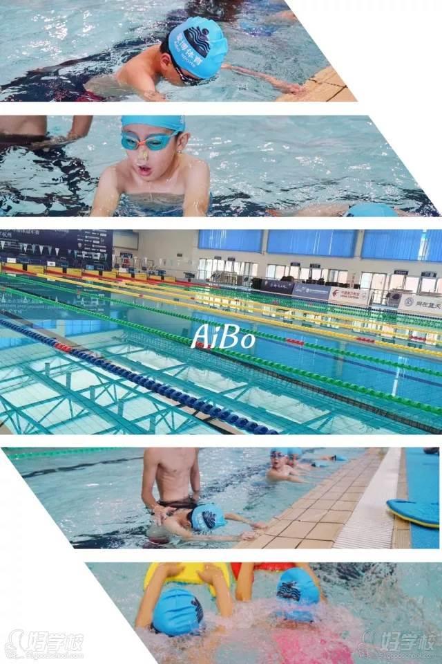 游泳教学风采