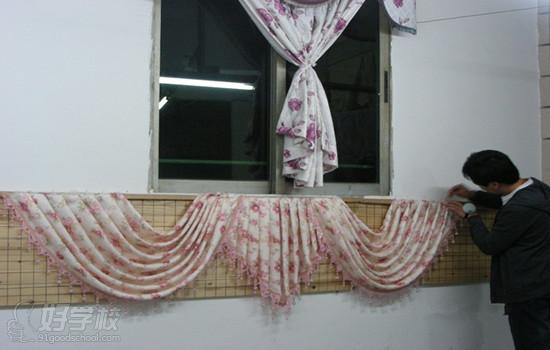 窗帘做法步骤图片