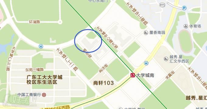 广州启德考培学校大学城南校区在哪里?_学校地址