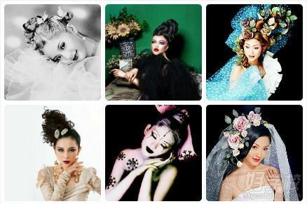 新娘化妆整体造型图片