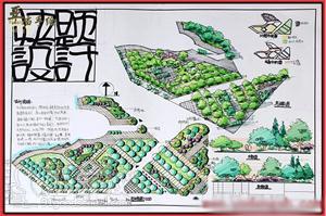 南昌景观园林考研快题培训班-南昌亚当手绘设计工作室图片